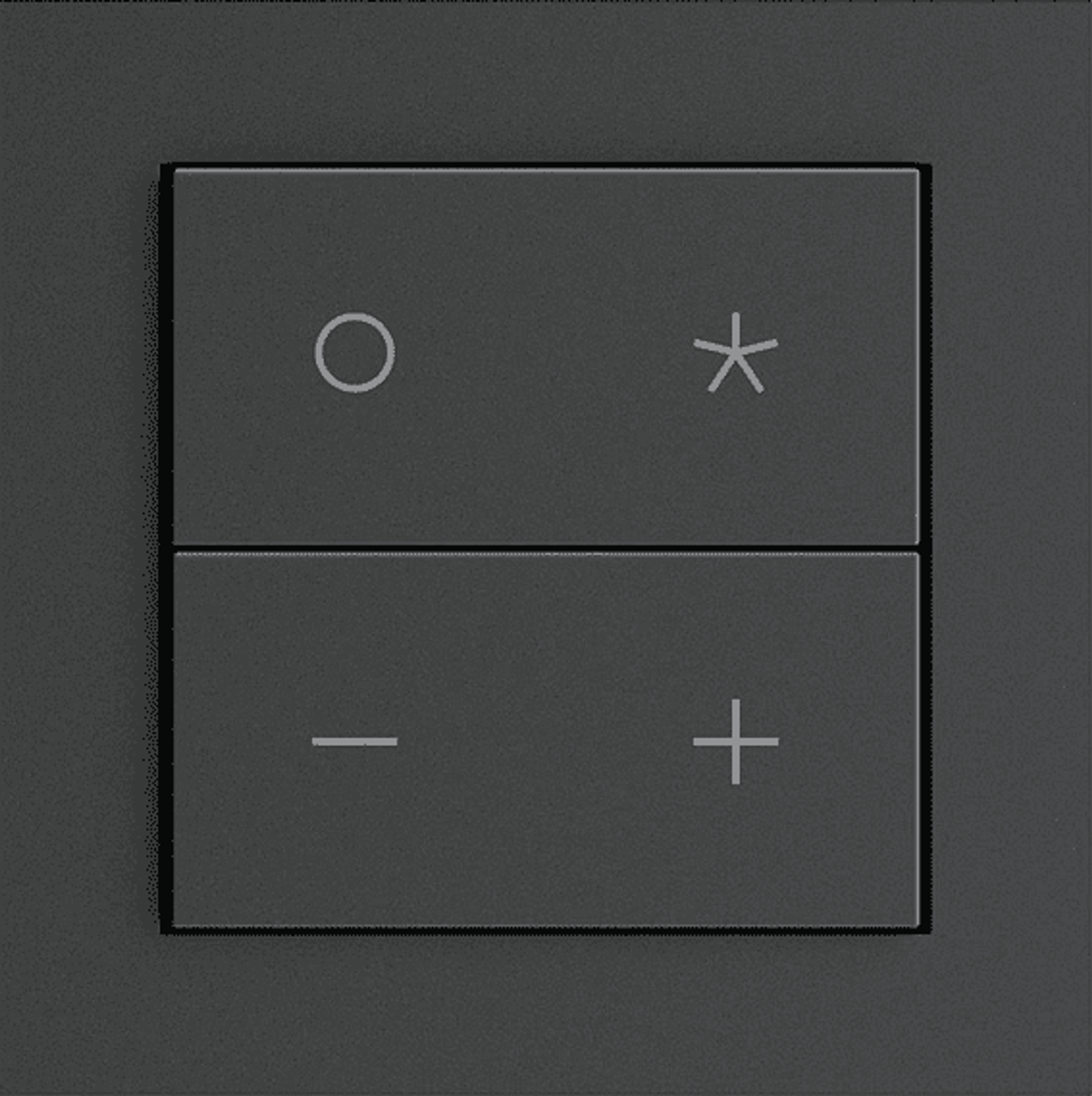 Senic Nuimo Click Add-On Switch black
