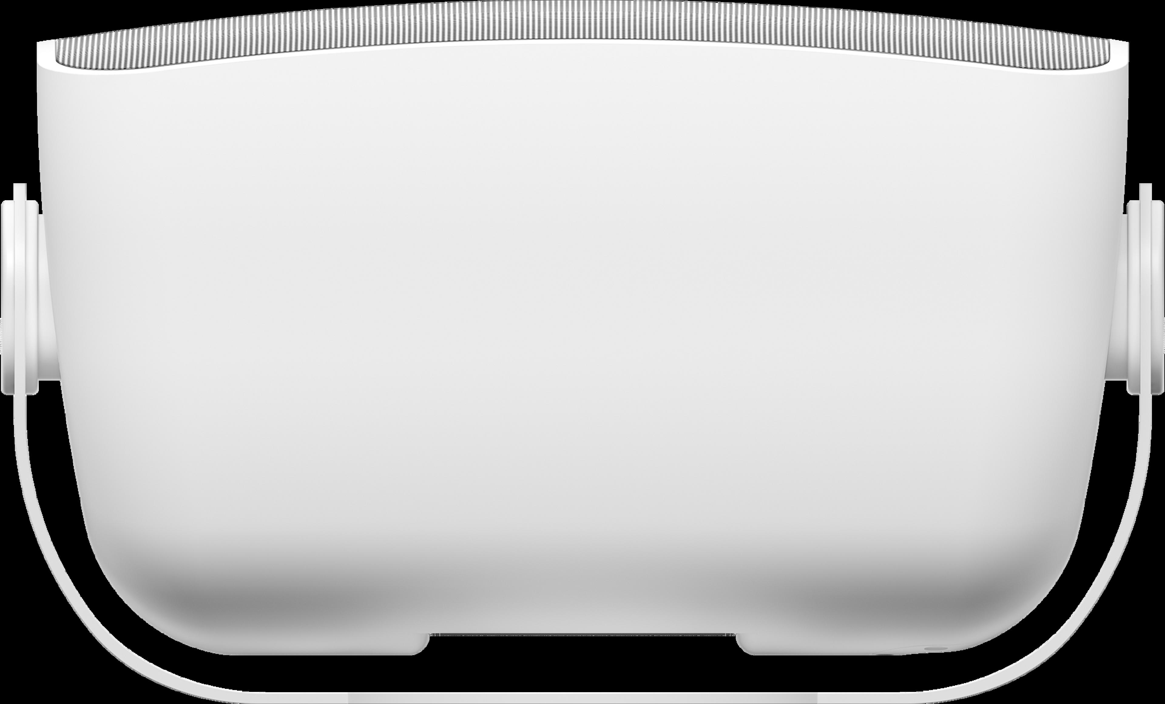 Haut-parleur extérieur, vue de dessus