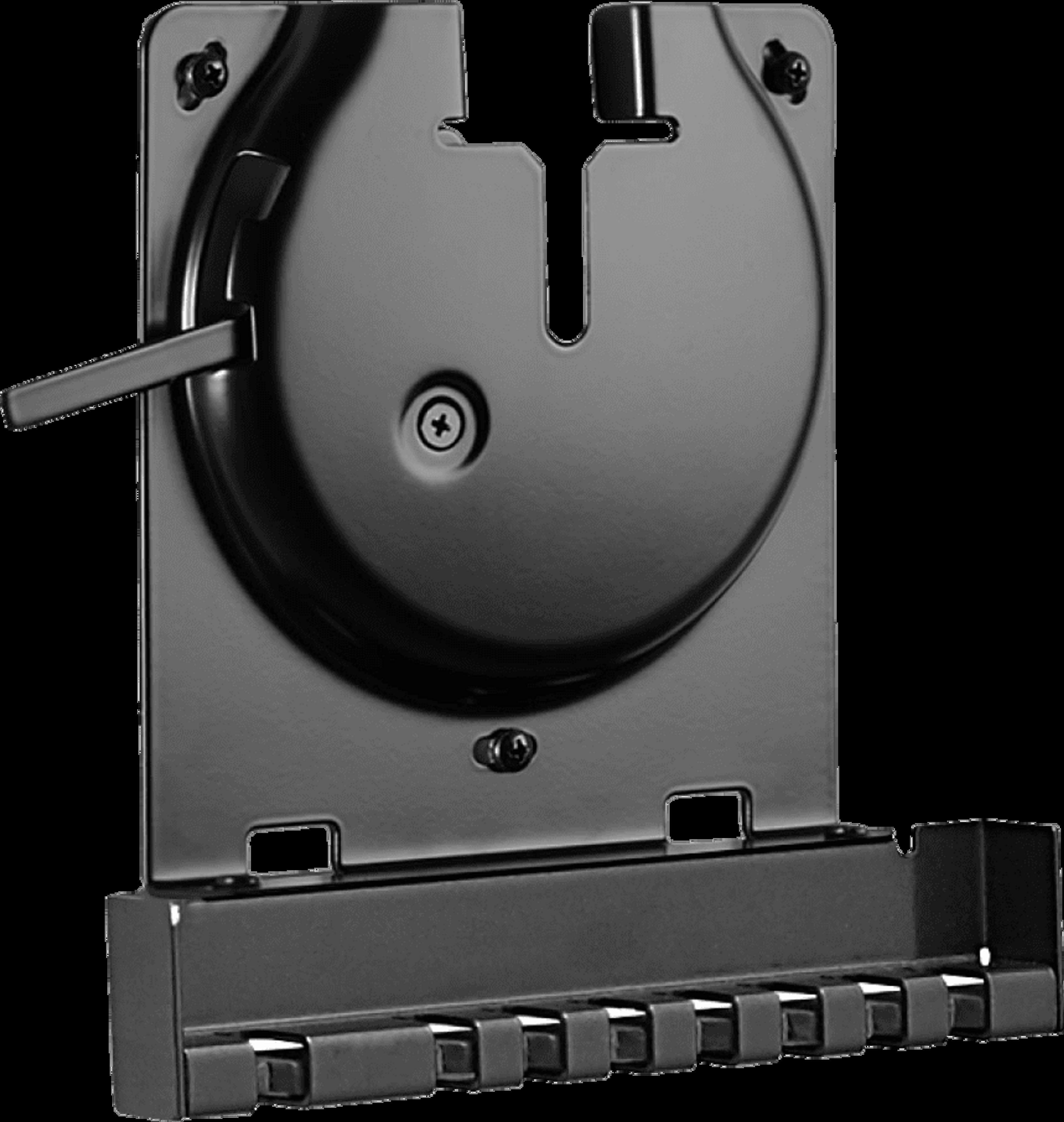 Sanus vægbeslag til Sonos Amp skråt forfra