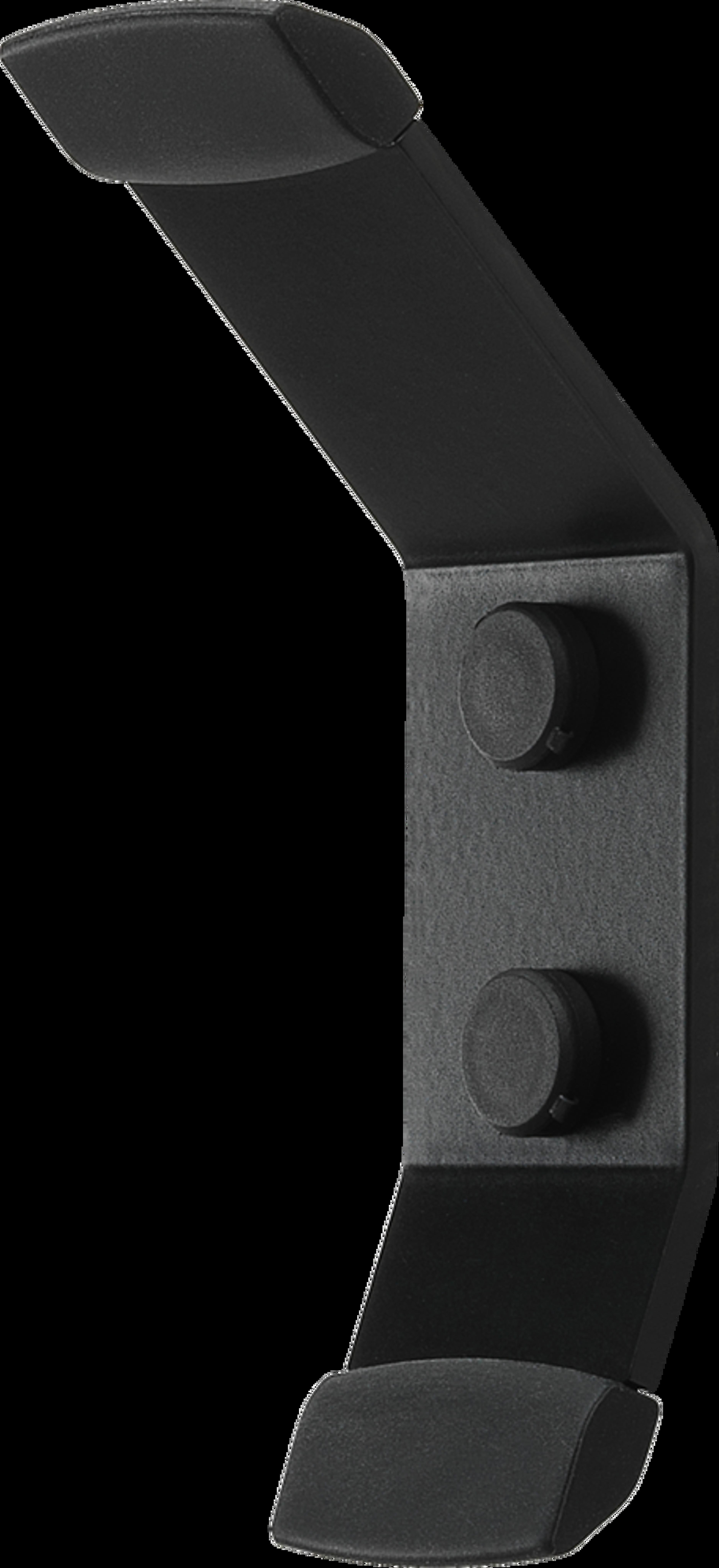 Fixation murale Flexson pour Sonos Move noire - profil