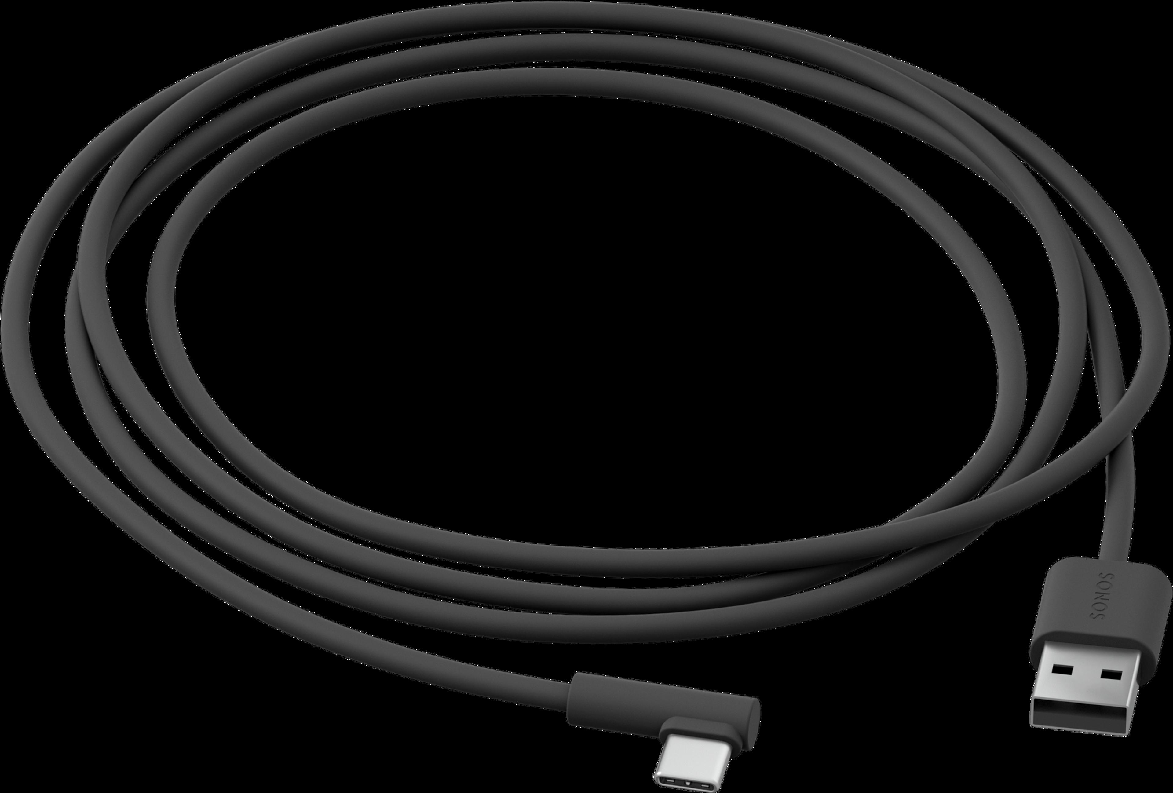 Roam USB A-C Charging Cable shadow black