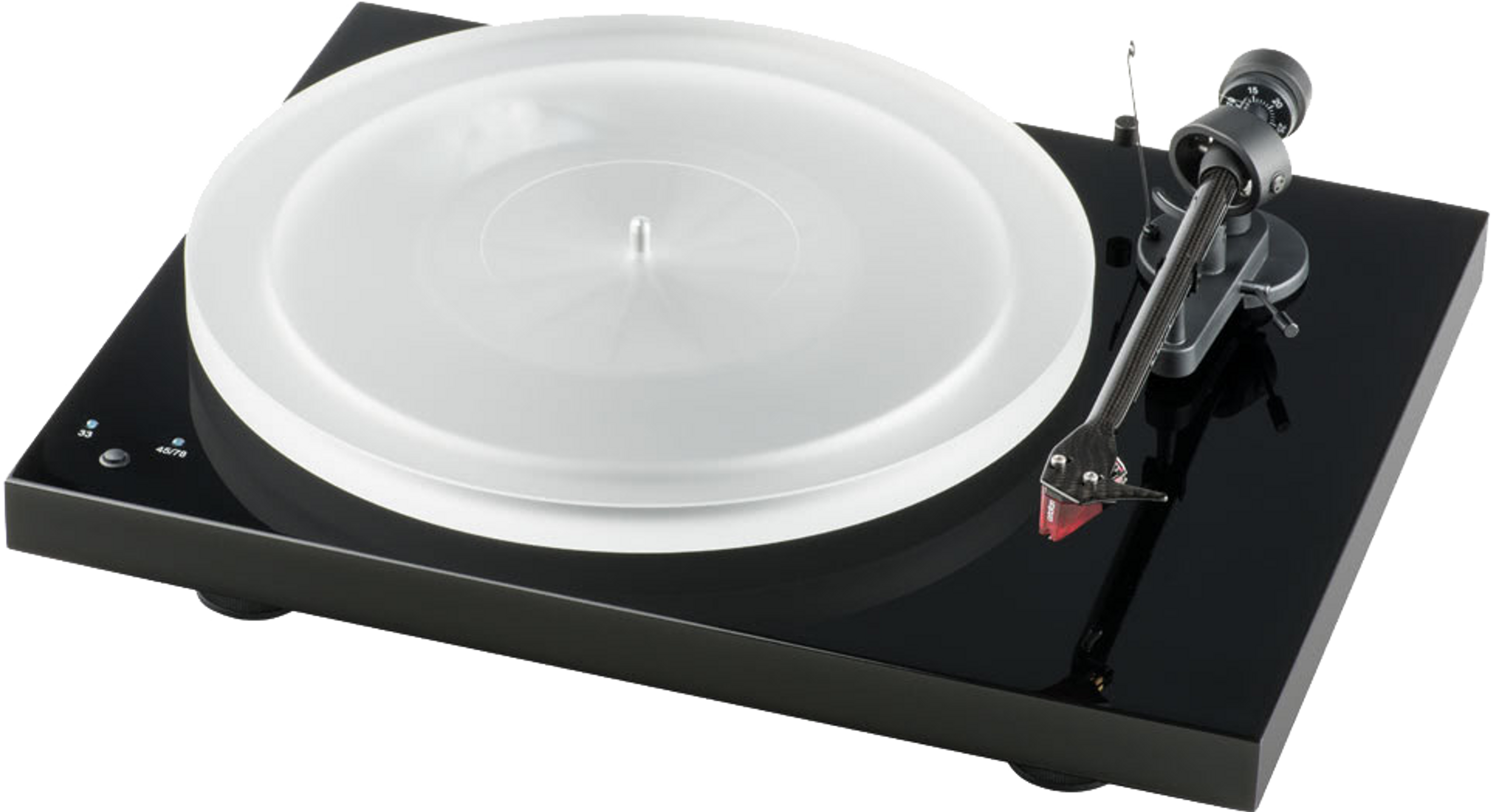 Pro-Ject Debut Carbon Turntable piano