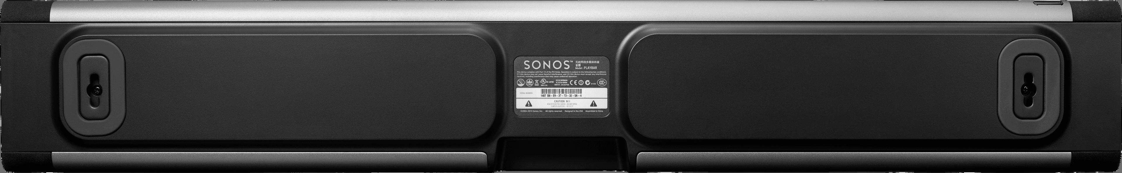 Sonos Playbar - dessous