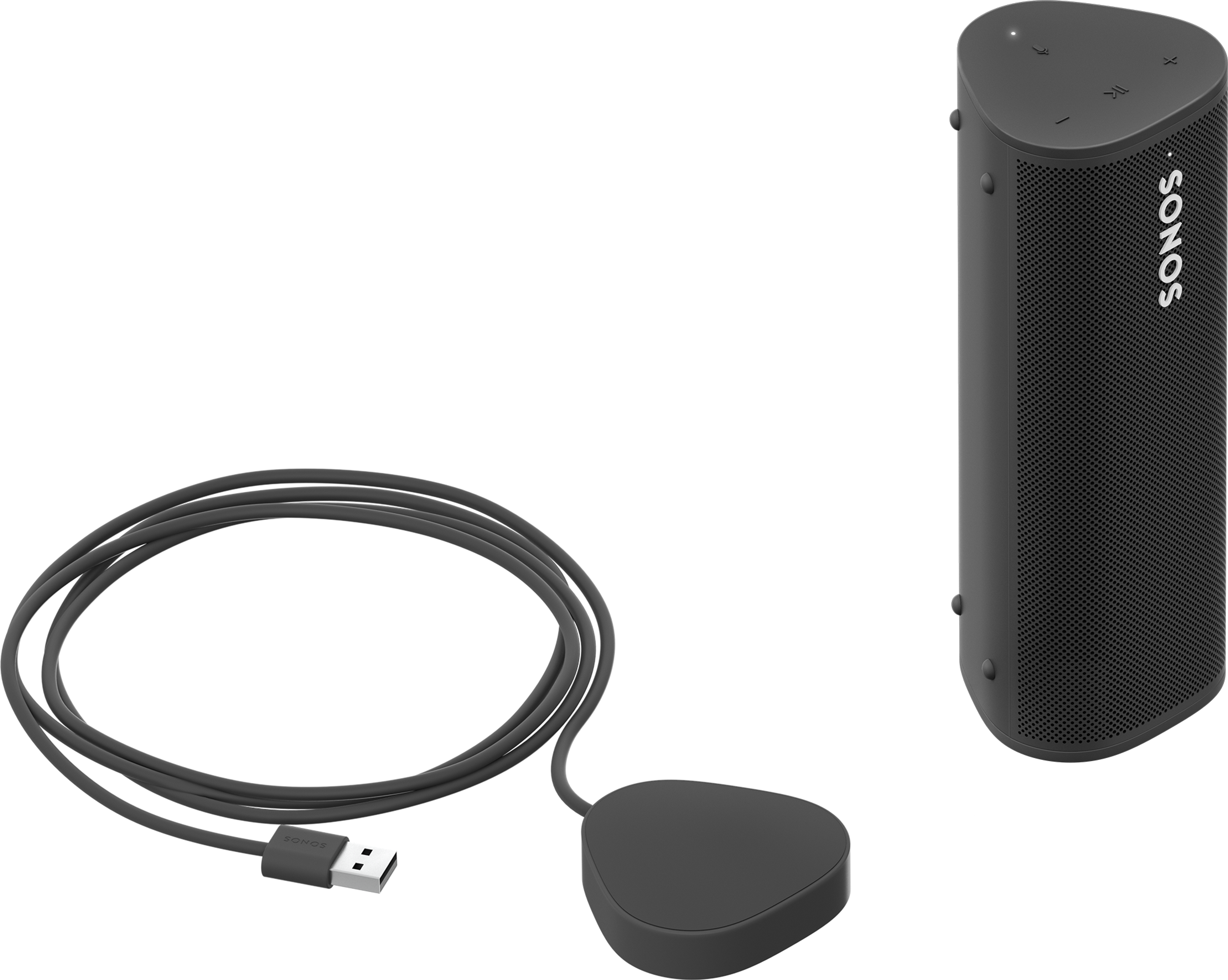 Roam with Wireless Charger black