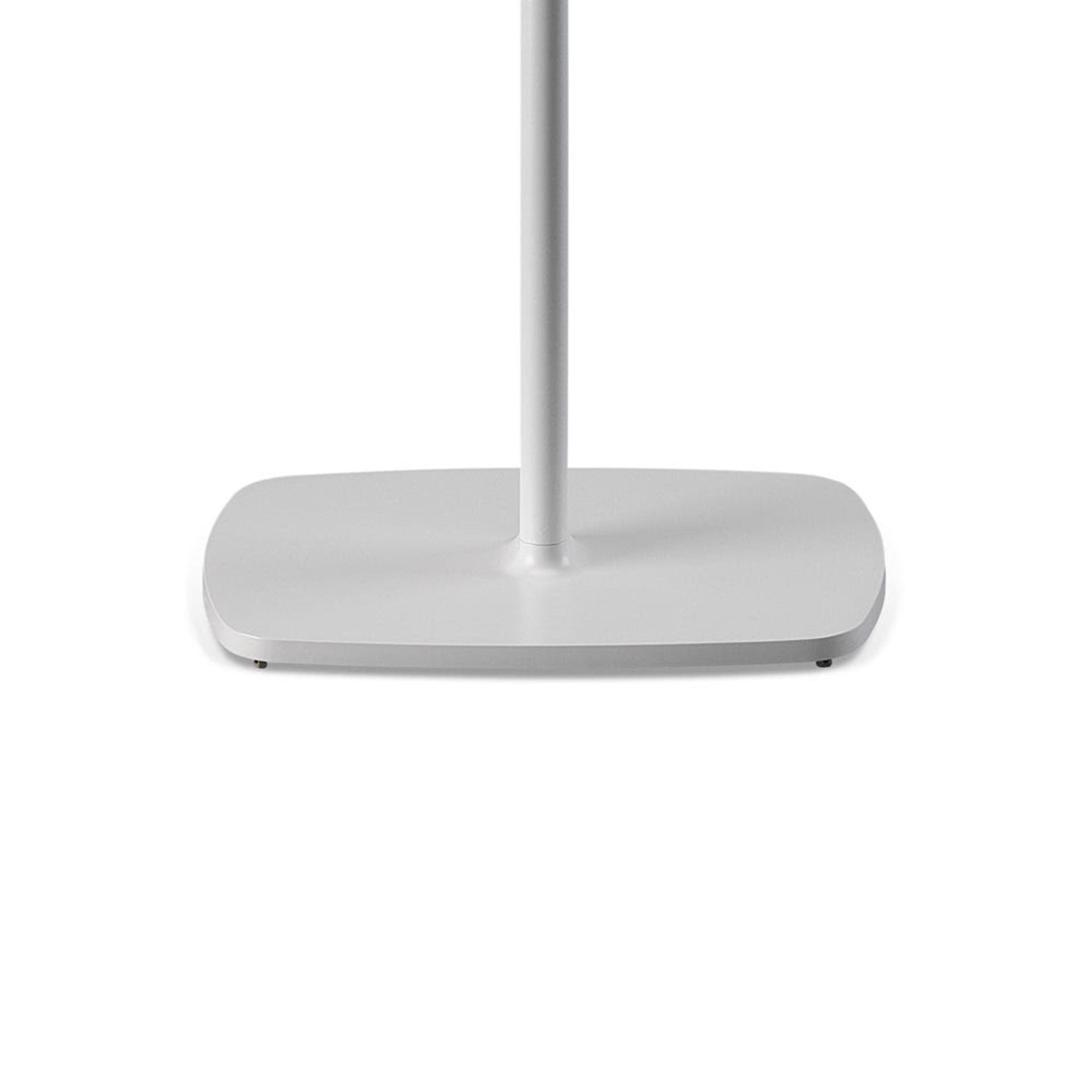 Flexson Adjustable Floor Stand (Pair) bottom white