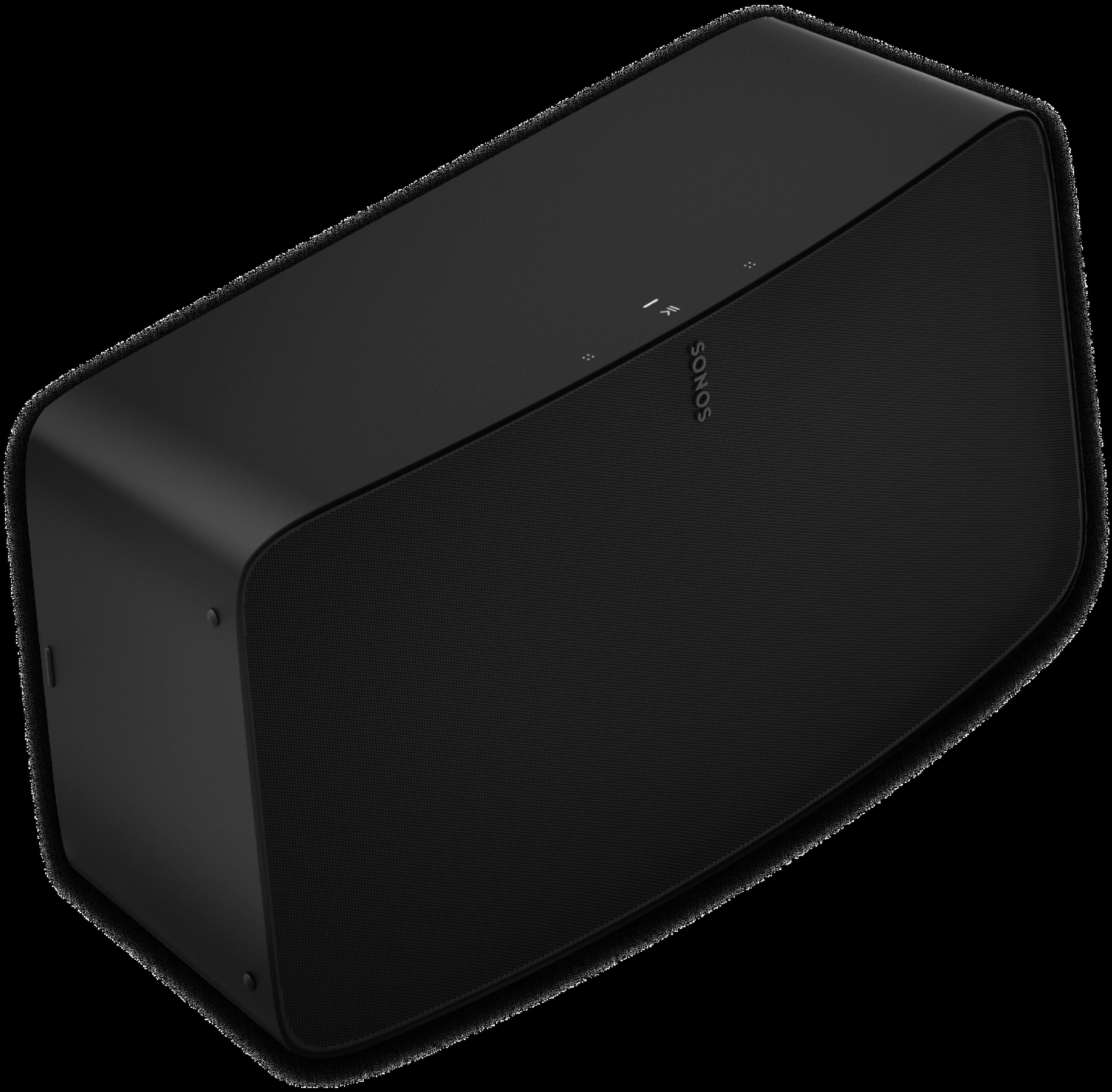 Sonos Five noir - profil