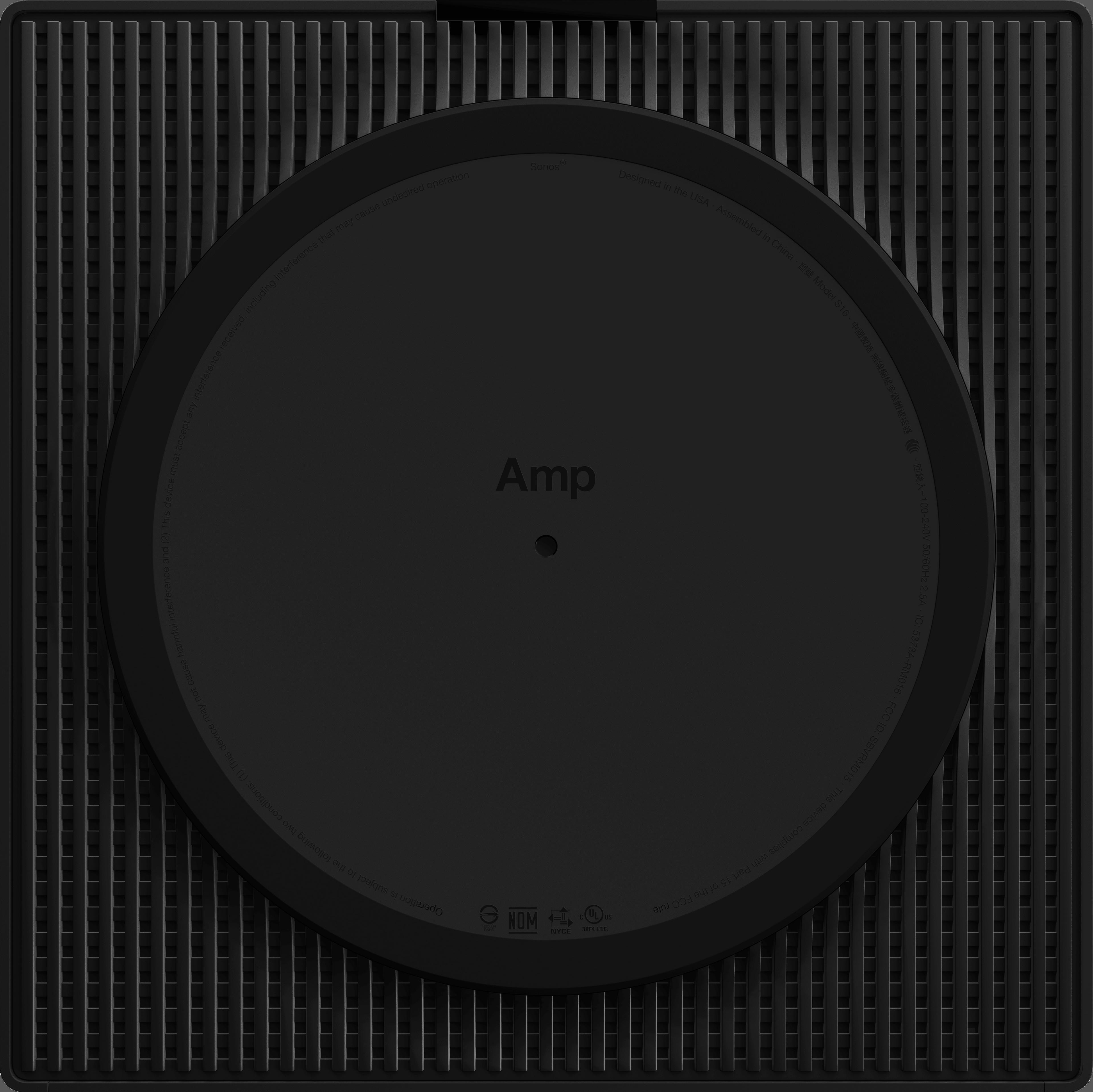 Sonos Amp - dessous
