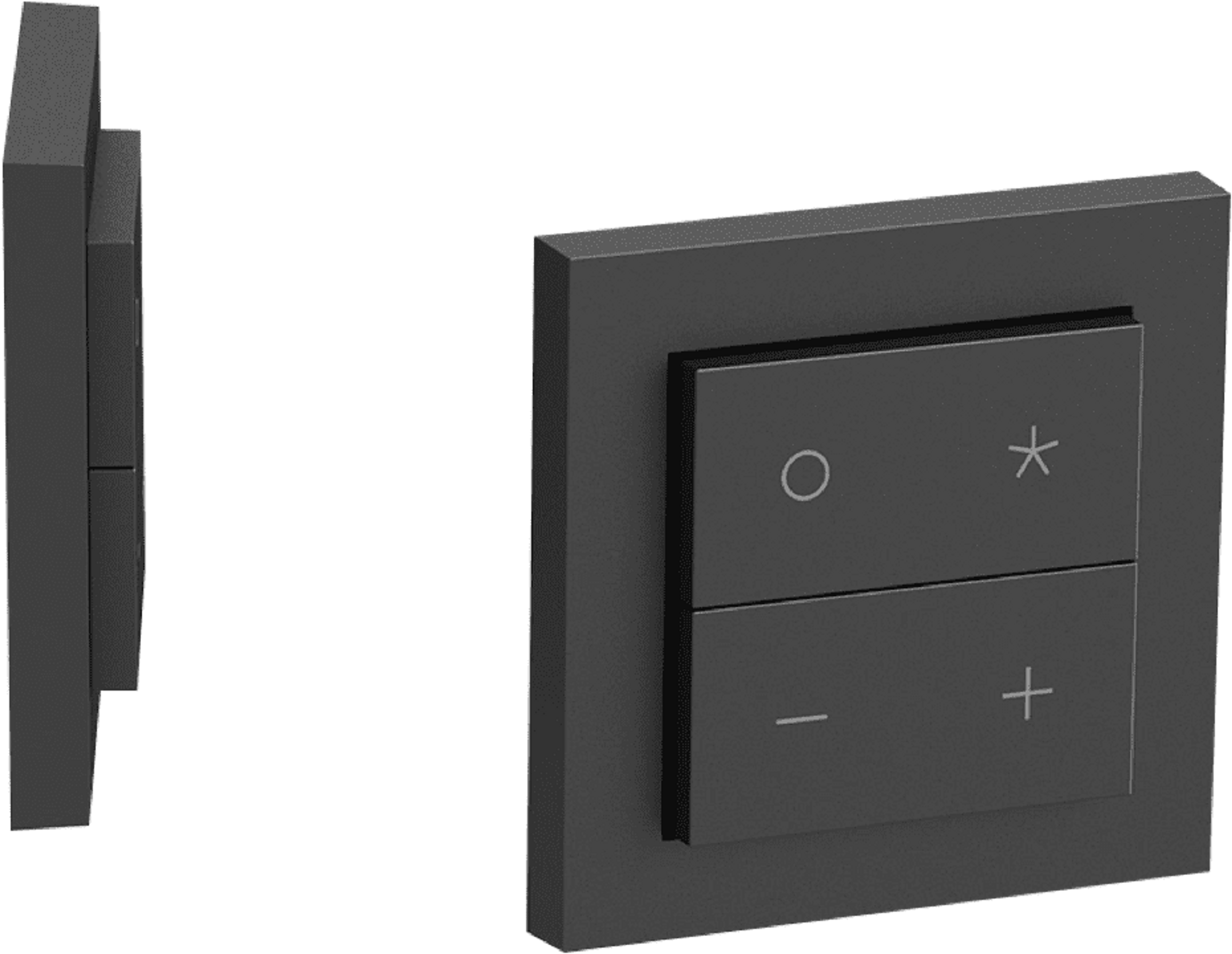 Senic Nuimo Click Add-On Switch angle black