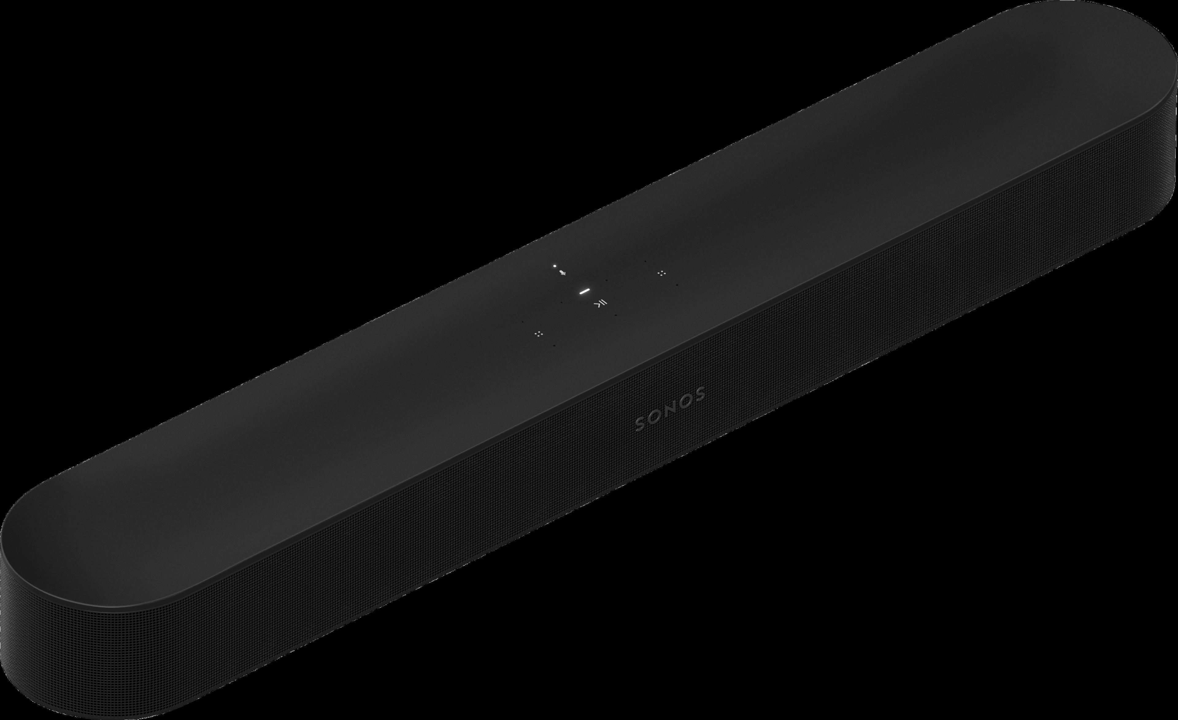 Sonos Beam noire - profil