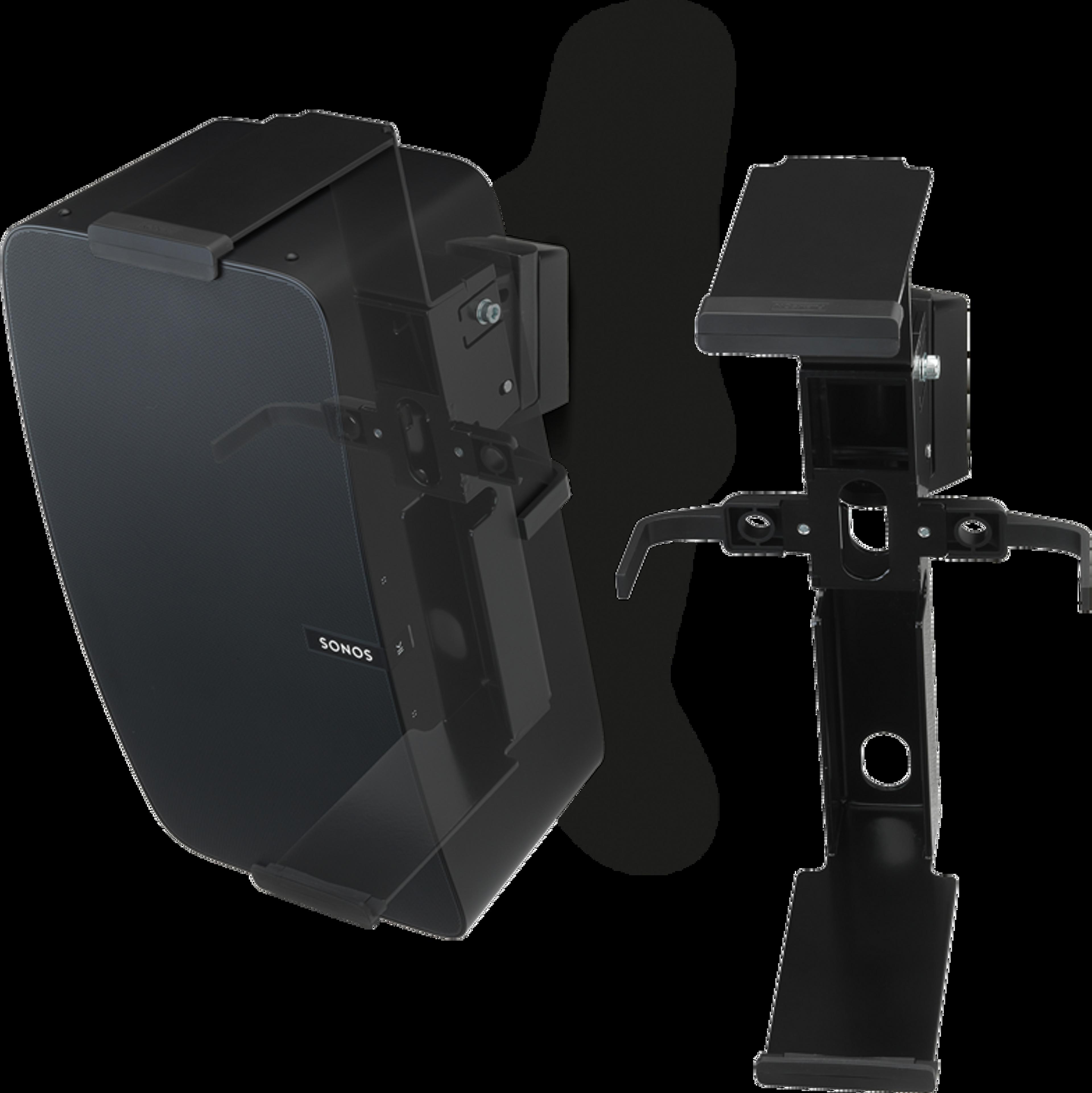 Flexson Mount Five pair vertical black