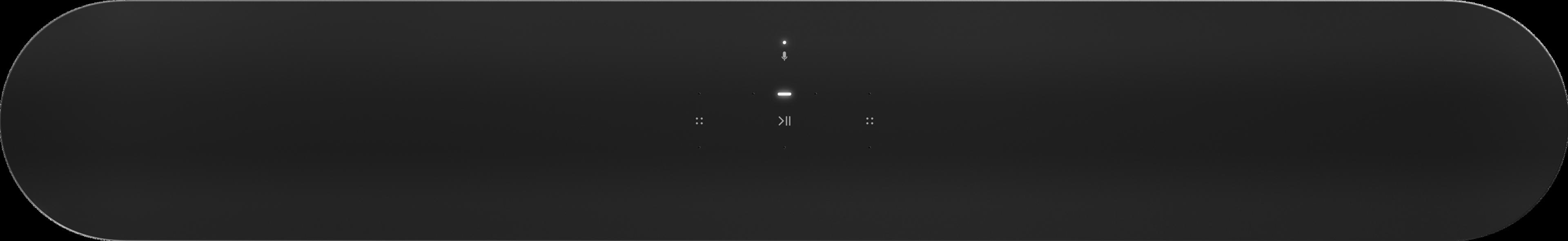 Vista superior de Beam en negro