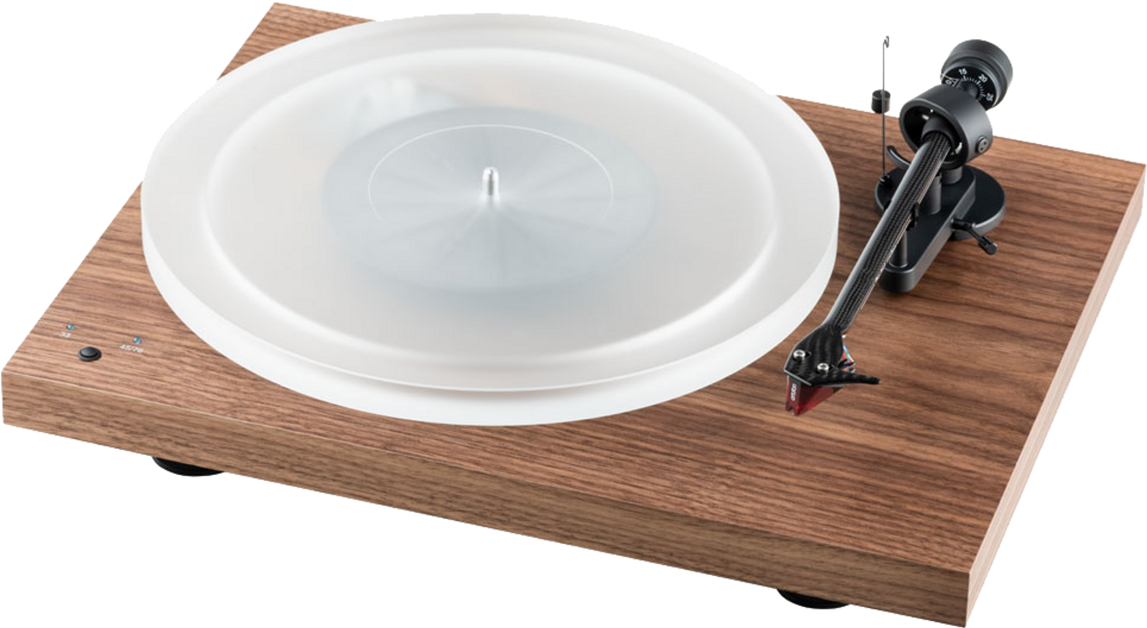 Pro-Ject Debut Carbon Turntable walnut