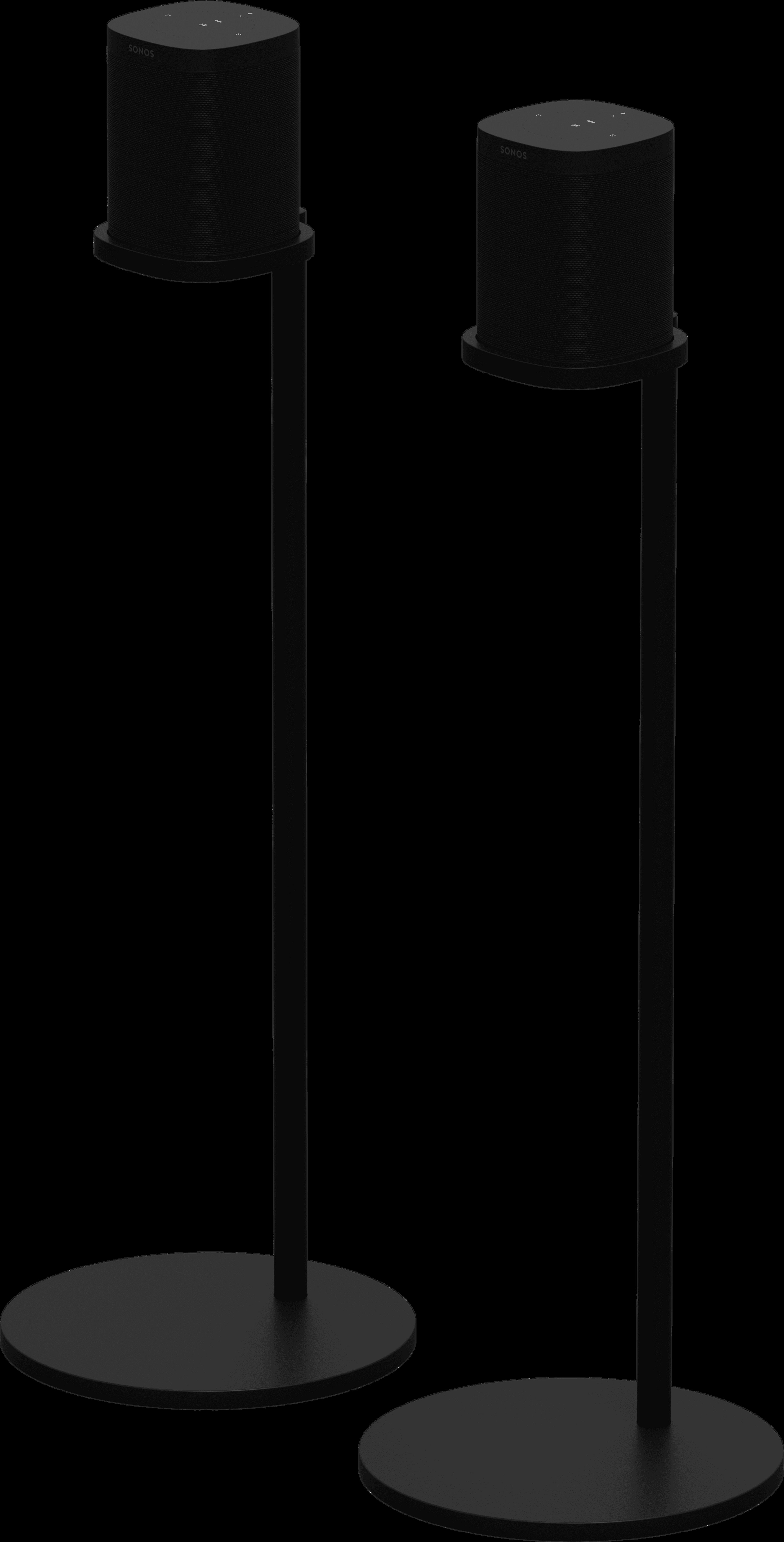 Stand full pair black