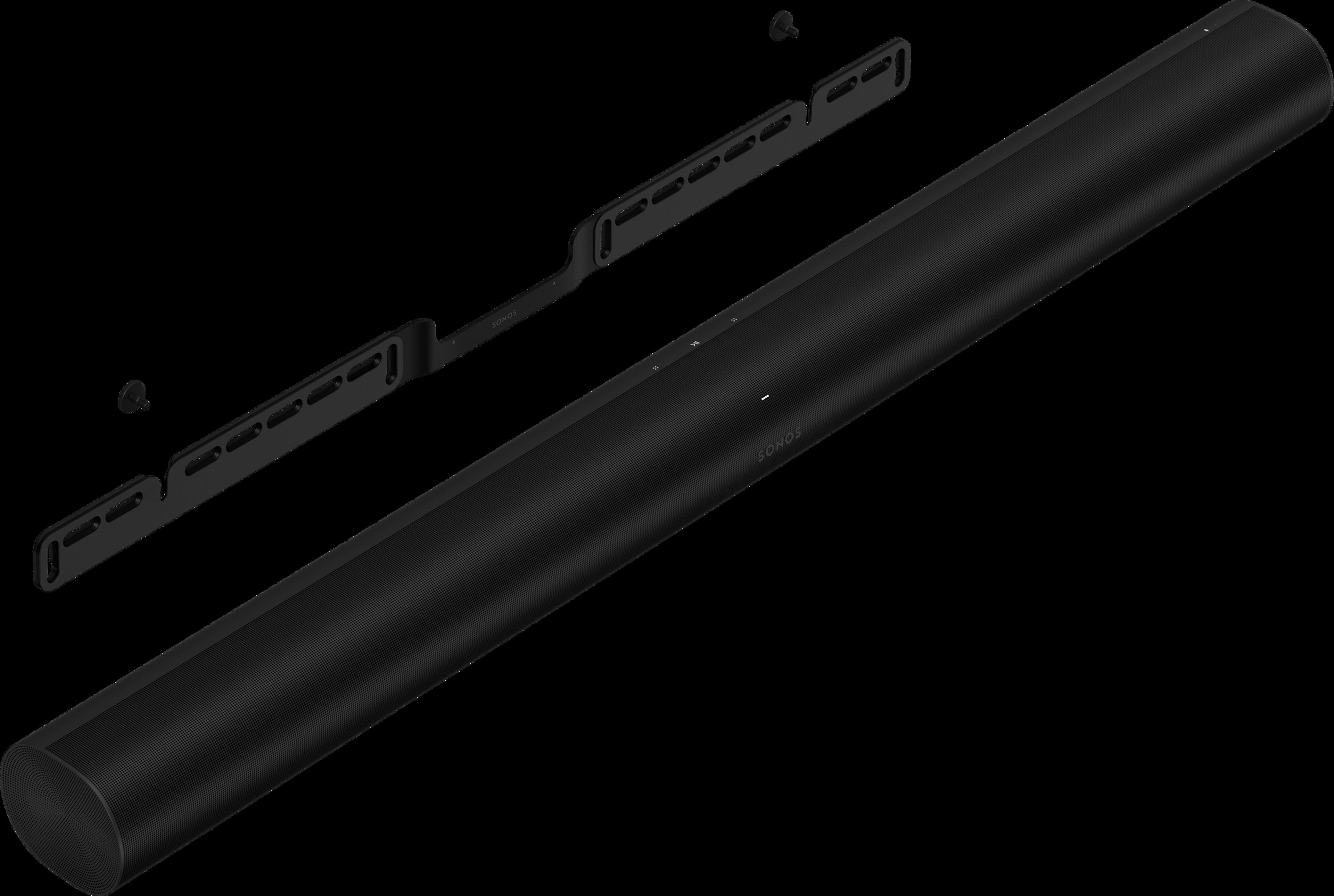 Arc beugel met Arc hoek zwart